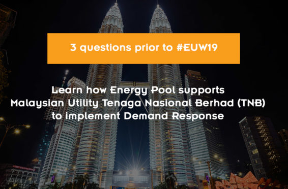 picture with title : Learn how Energy Pool supports Malaysian Utility Tenaga Nasional Berhad (TNB) to implement Demand Response