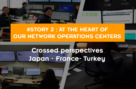 network operations center Energy Pool France Turkey Japan