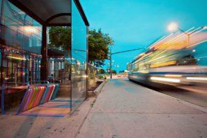 réseau de bus électriques