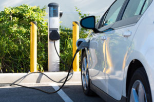 charging station for electric vehicle-to-grid
