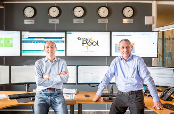 Photo gouvernance Energy Pool, Benoît Barrière et Olivier Baud sont présents.